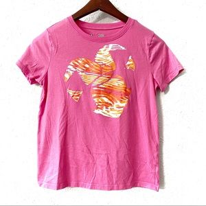 Under Armour Pink Graphic Short Sleeve T-Shirt YL